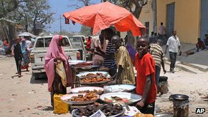 Mogadishu market