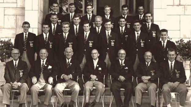 GB's football team at the 1960 Olympics