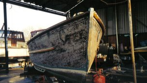 Jolly Brit during restoration