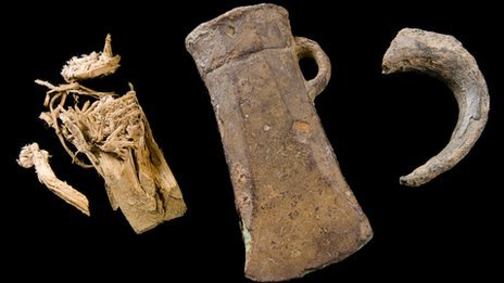 Bronze Age treasure found in Treuddyn, Flintshire