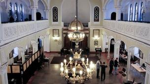 Interior of synagogue (Pic: Daniela Miernik)