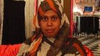 Owner of a Somali women's clothing store