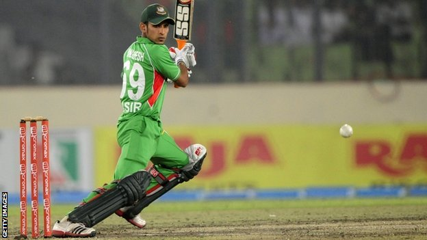 Bangladeshi batsman Nasir Hossain