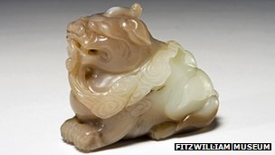 "17th Century jade ""imaginary beast"" stolen from Fitzwilliam Museum"