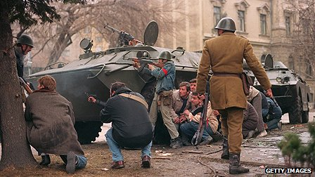 Romania uprising of 1989