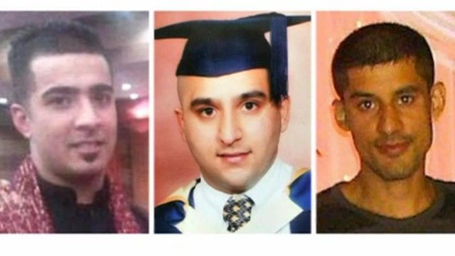 Haroon Jahan, Shazad Ali and Abdul Musavir