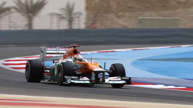 Force India Bahrain