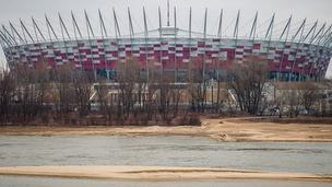 New National Stadium and the Vistula