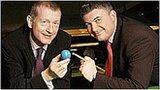 Steve Davis and John Parrott
