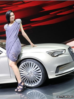 Audi on show at Chinese motor show