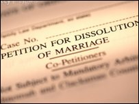 Petition of dissolution of marriage