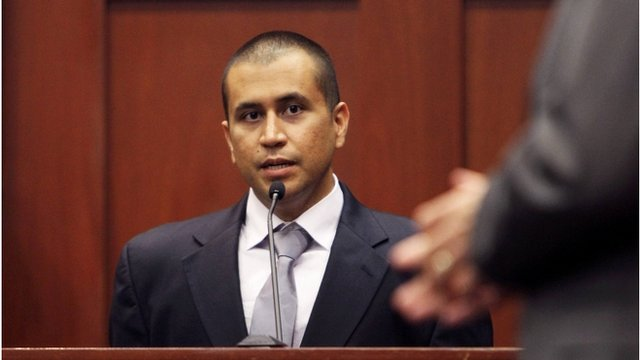 George Zimmerman in court, 20 April