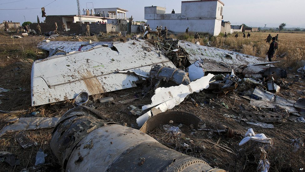 Plane Wreckage http://www.bbc.co.uk/news/world-asia-17791676