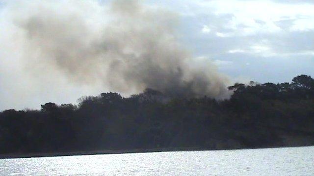 Green Island fire