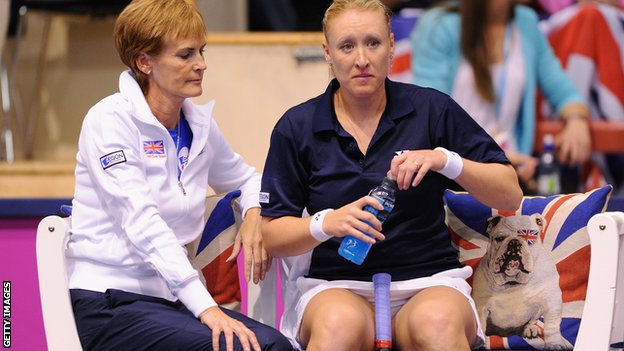 Elena Baltacha and Judy Murray endured a disappointing first day