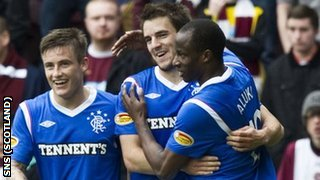 Rhys McCabe, Andy Little and Sone Aluko