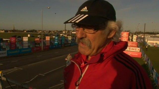 Dave Bedford, race director, Virgin London Marathon