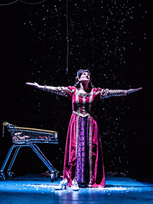 Fabiana Kvam in 9 at West Yorkshire Playhouse