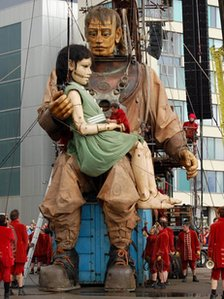 Giants in Liverpool
