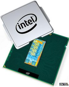 Graphic of Ivy Bridge processor