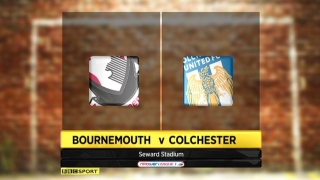 Bournemouth 1-1 Colchester