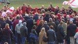 Jersey celebrate promotion