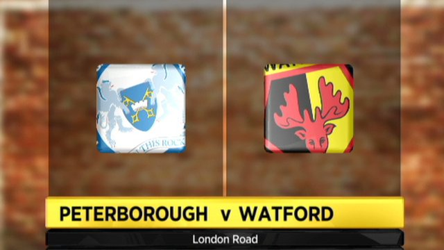 Peterborough 2-2 Watford