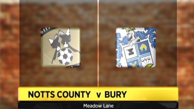 Notts County 2-4 Bury