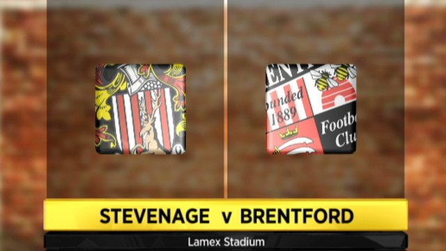 Stevenage 2-1 Brentford