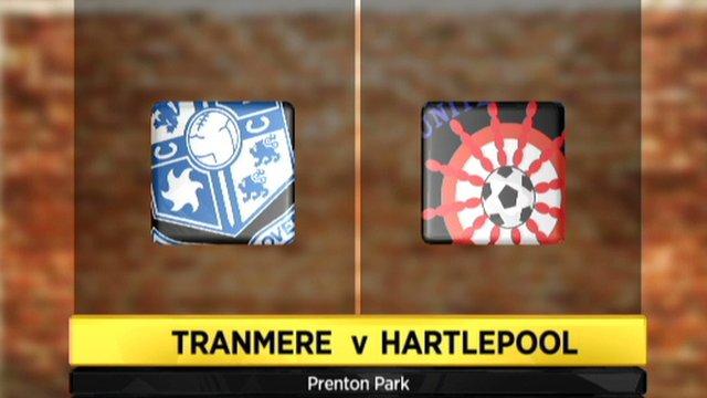 Tranmere 1-1 Hartlepool