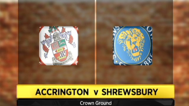 Accrington 1-1 Shrewsbury
