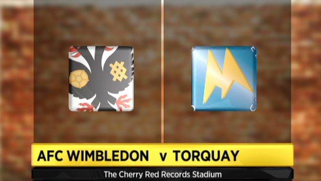 AFC Wimbledon 2-0 Torquay
