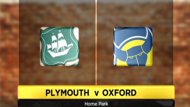 Plymouth 1-1 Oxford Utd