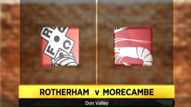 Rotherham 3-2 Morecambe