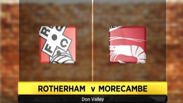 Rotherham 3-2 Morecambe