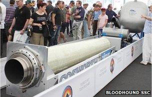Rocket test rig