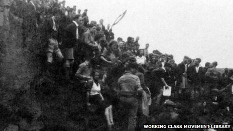 Battle of Kinder Scout Hill, April 24th 1932