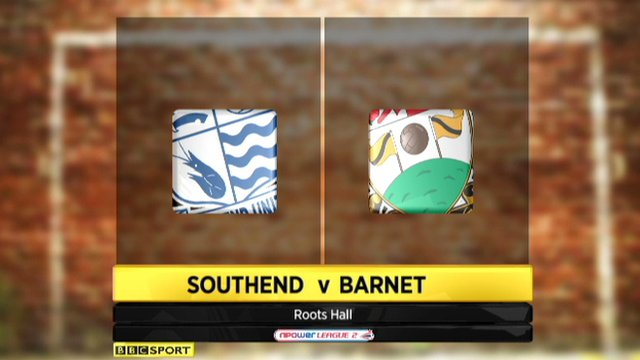 Southend 3-0 Barnet