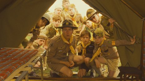 Ed Norton (centre) in Moonrise Kingdom