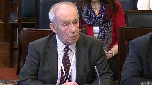 Finlay Spratt, leader of the Prison Officers' Association