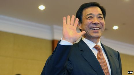 File photo: Bo Xilai in Chongqing