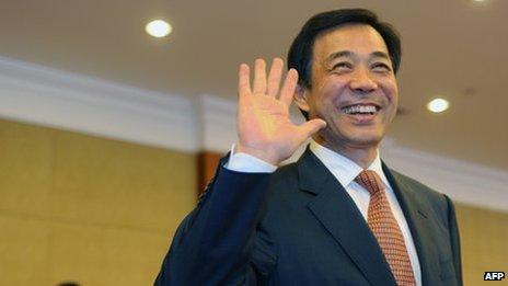 File photo: Bo Xilai in Chongqing