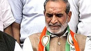 Congress Party leader Sajjan Kumar