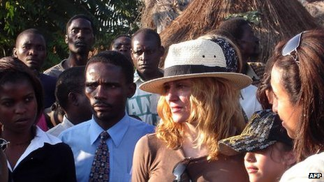 Madonna in Malawi