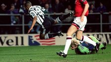 Schmeichel was in unbeatable form at St James' Park
