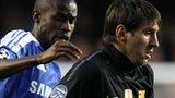 Ramires and Lionel Messi
