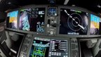 Cockpit of Dreamliner