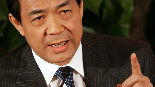 Bo Xilai, Chinese politician