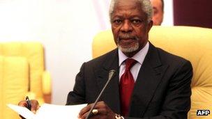 Kofi Annan, file pic