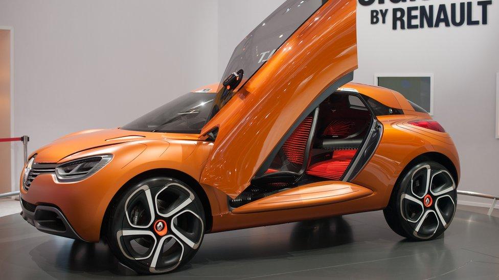 bbc news in pictures beijing motor show 2012. Black Bedroom Furniture Sets. Home Design Ideas